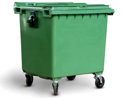 eco garbage bin 120 l inter construction product