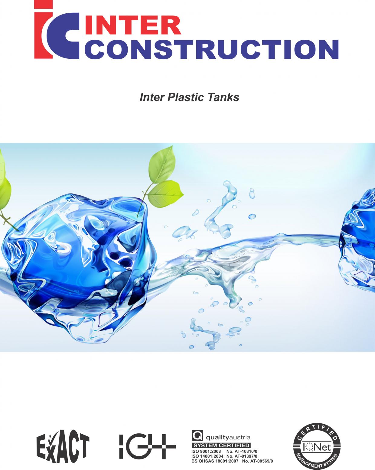 plastic tanks inter construction