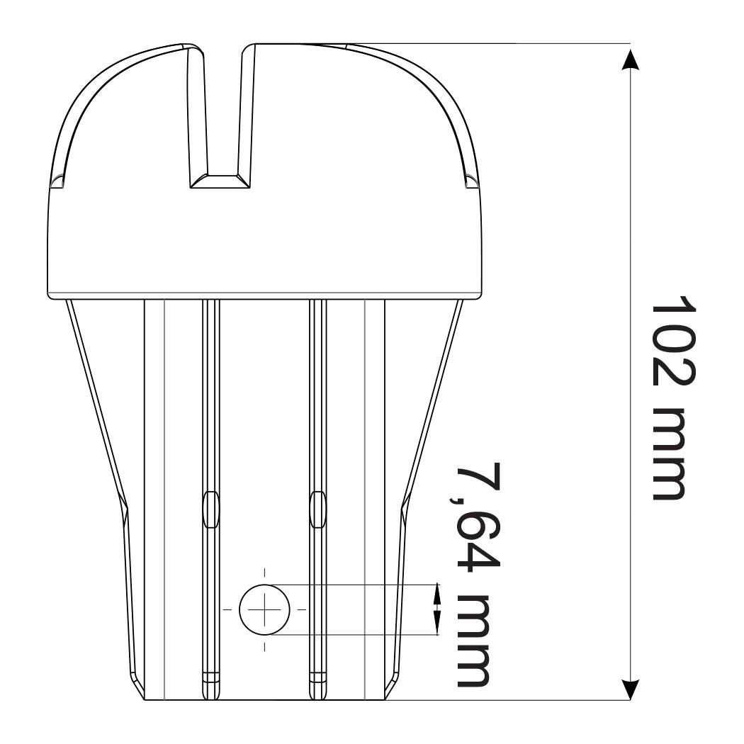 tehnicki crtez kapace za zica